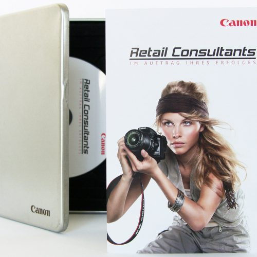 wisuell, wigge, Canon-Merchandiser-Projekt